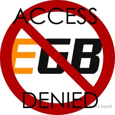 Решение проблемы с доступом к ЕГБ