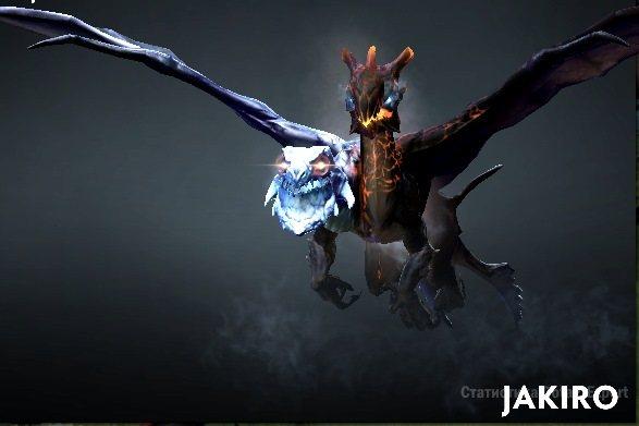 Новая модель героя в патче 7-03: Jakiro
