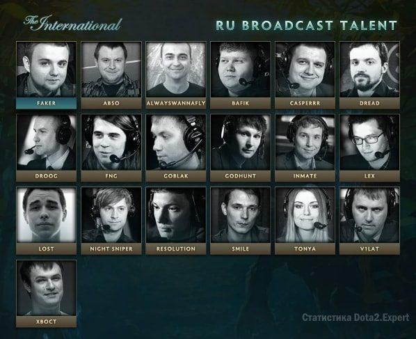 The International 2017 комментаторы и аналитики русской трансляции