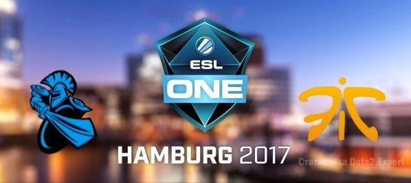 Прогноз Fnatic vs Newbee на 26.10.2017 ESL One Major