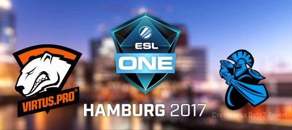 Virtus Pro - Newbee прогноз ESLHamburg Major на 29 октября 2017