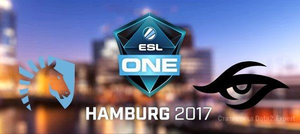 Team Liquid vs Secret прогноз ESL One 2017 10 29