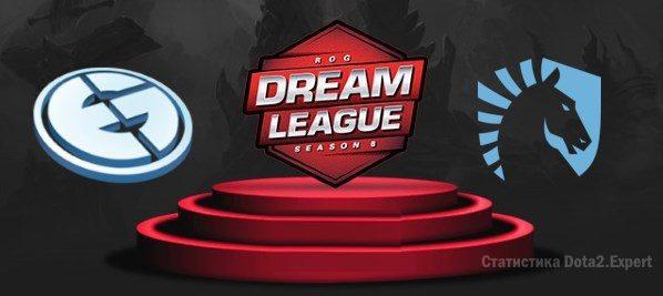 Прогноз ставки EG - Liquid на полуфинал Дримлиги Сезон 8