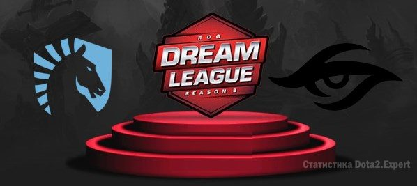 Прогноз Team Secret - Liquid, гранд-финал DreamLeague S8, 03.12.2017