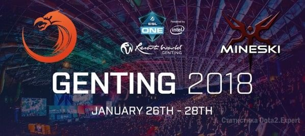 ESL One Genting прогноз Mineski vs TNC Dota 2