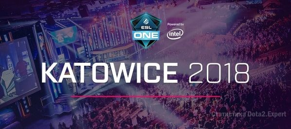 ESL One Katowice Dota 2 Major 2018 — Сетка и расписание турнира