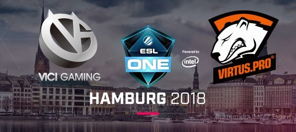 Прогноз Vici Gaming vs Virtus Pro на ESL One Hamburg 27.10.2018