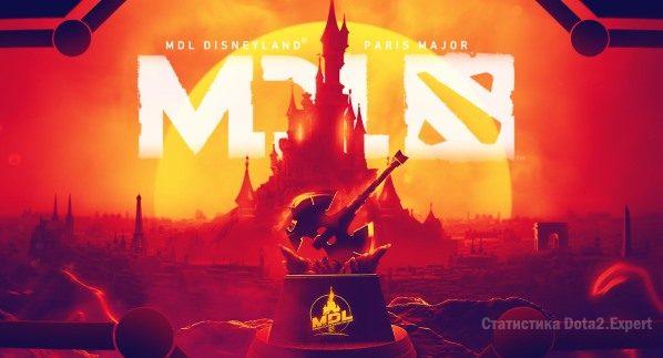 MDL Disney Major 2019 — Сетка и расписание